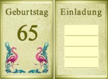 Doppelkarten Geburtstag Grußkarten, Geburtstagskarten, Einladungskarten