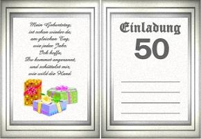 Einladung 50 Geburtstag Vorlage Kostenlos U2013 Cloudhash, Einladungs
