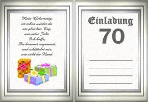Einladungskarten Geburtstag 1