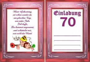 Einladungskarten Geburtstag 2