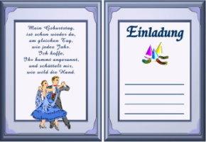 Einladungskarten Geburtstag Kostenlos Erstellen