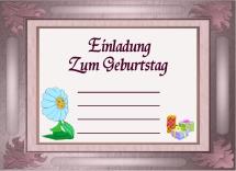 Fesselnd Einladungskarten Gratis Zum Ausdrucken Und Downloaden, Grusskarten  Kostenlos Einladungskarte Männerparty, Tanzpaar, Elfe, Blumen Mädchen.