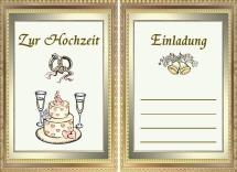 Einladungskarten Hochzeit Vorlagen Kostenlos Zum Ausdrucken Und Downloaden