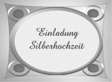 14 silberhochzeit 15 vorlagen einladungskarten zur silberhochzeit und ...