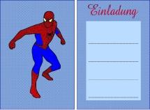 Einladungskarten Spiderman Kostenlos