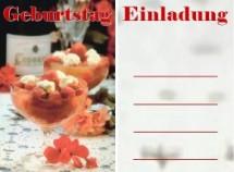 GeburtstagseinladungenEinladungskarten Grusskarten Geburtstagskarten