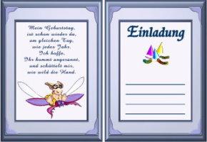 Incroyable Einladungskarten Grußkarten