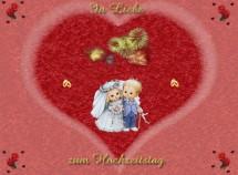 Glückwunschkarten Hochzeitstag