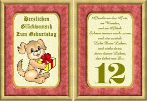Grußkarten Geburtstag 1