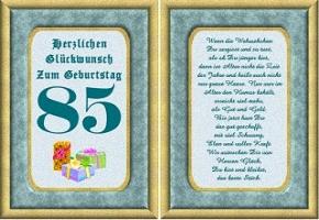 85. geburtstag gedicht