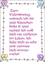 Grusskarten Valentinstag. Einladungskarten