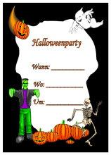 Einladungskarten Zu Halloween Die Kostenlosen Pictures
