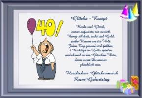 Sprüche zum 40. Geburtstag. Lustige Sprüche zum 40. Geburtstag ...