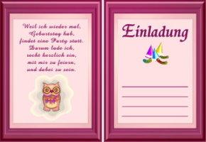 Online Einladungskarten Zum Ausdrucken Gratis
