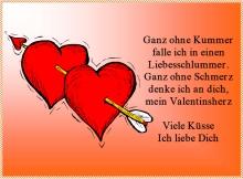 Valentinstkarten