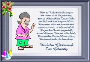 Witzige spruche grusskarten for Sprüche für geburtstagseinladungen
